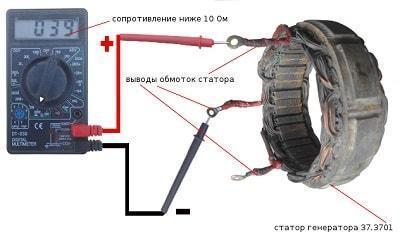 obryv-obmotki-statora-generatora-vaz-2107