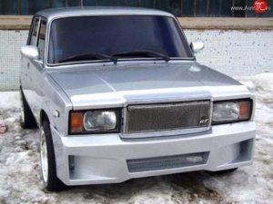 Самостоятельный тюнинг бампера ВАЗ 2107