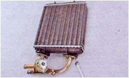 замена радиатора печки ваз 2107