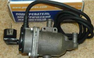 Как установить подогрев двигателя на ваз 2107